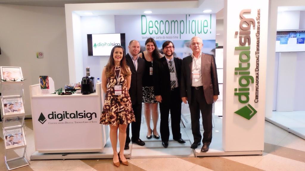 DigitalSign marcou presença no 14º CertForum em Brasília